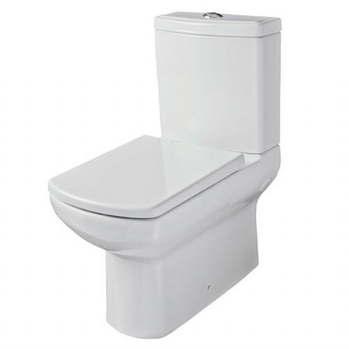 Kartell Aspect Back To Wall Close Coupled Toilet With Cistern - Soft Close Seat